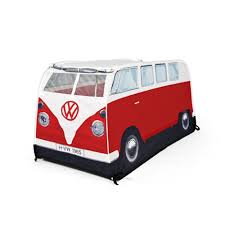 volkswagen van front view vw camper van tents the monster factory