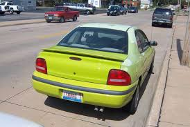 curbside classic 1995 dodge neon sport u2013 say hi u2026to dashed