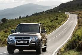 drive co uk on the road in the 2016 mitsubishi shogun