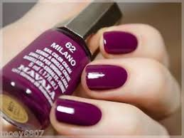 new 17oz mavala nail polish color cream milano red purple