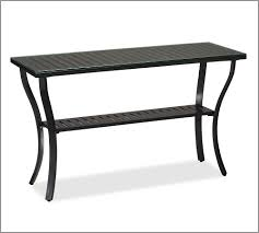Black Metal Patio Furniture - outdoor console table home design by fuller