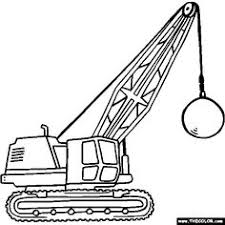 digger coloring pages for kids coloring page with a single truck