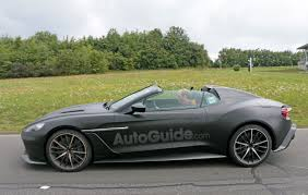 aston martin matte black rare and incredibly aston martin spied testing autoguide
