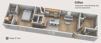 Floor Plans For Mobile Homes Single Wide Mobil House Plans House And Home Design