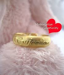 wedding rings with names stunning ring for newlyweds gold engagement rings with names