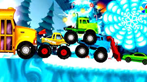 monster truck videos on youtube bambini video educational big for kids bazylland animacje youtube
