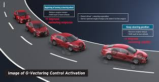 mazda motor of america skyactiv vehicle dynamics introducing g vectoring control