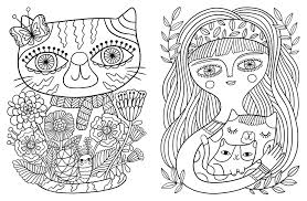 100 coloring pages cat coloring pages cats google search