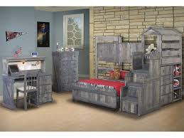 bedroom cheap kids bedroom sets with double bed with red
