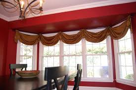 Front Windows Decorating Large Window Curtains White Sheer Curtain And Blue Drapery Curtain