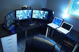 blue computer room my dream house pinterest room ideas