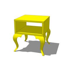 Yellow Side Table Ikea Ikea Trollsta Side Table 3d Model Formfonts 3d Models Textures