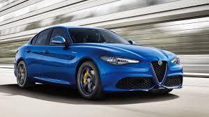 alfa romeo classic blue awd alfa romeo giulia veloce gets 280 hp turbo 2 0 liter engine