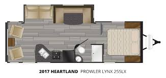 2017 heartland prowler lynx 255lx travel trailer u2013 stock pl17001