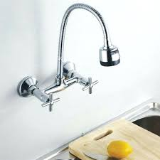 wall mount kitchen faucets with sprayer wall mount kitchen faucets lisacintosh