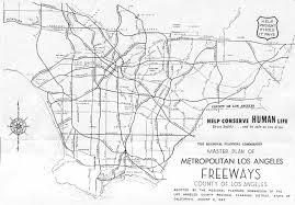 La City Map Dodger Stadium Map From 1957 Proposal True Blue La