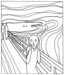 wonderful grant wood american gothic coloring page 5 munch