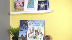Ribba Picture Ledge Ribba Picture Ledges For Kids U0027 Books Ikea Home Tour Youtube