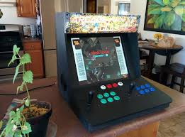 Cabinet For Pc by Make A Bartop Video Arcade From An Old Pc Make