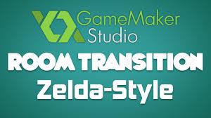 game maker tutorial elegant room transition zelda style youtube