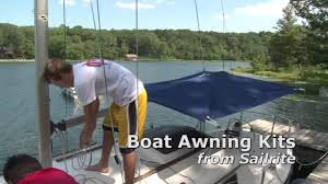 Awning Kits Boat Awning Kits Demonstration Youtube