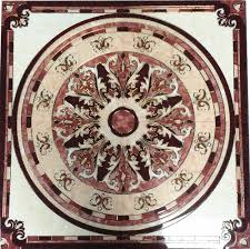 48 porcelain tile floor medallion tiles flooring