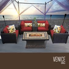 Outdoor Wicker Patio Furniture Sets - tk classics venice 6 piece outdoor wicker patio furniture set 06c