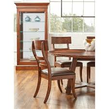 dark brown round kitchen table dark brown round dining table aspen rc willey furniture store
