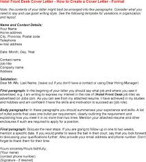Front Desk Receptionist Sample Resume by Cover Letter For Front Desk Position