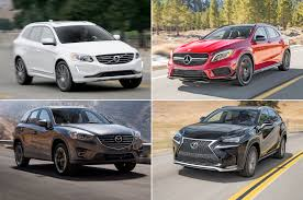 lexus nx200t vs bmw x4 20 crossovers and suvs with surprising performance handling