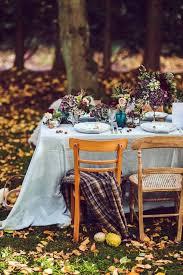 Backyard Wedding Ideas For Fall 47 Pretty Fall Woodland Wedding Ideas Weddingomania
