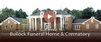 funeral homes bullock funeral home and crematorium home