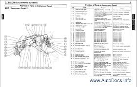 toyota corolla electrical wiring diagram with schematic images