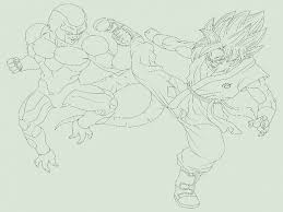 free dragon ball z coloring pages of goku ssgss best coloring