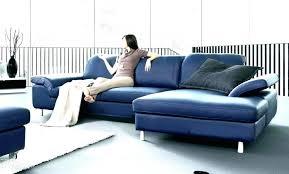 refaire coussin canapé design d intérieur canape bleu fonce housse blanc fantastique