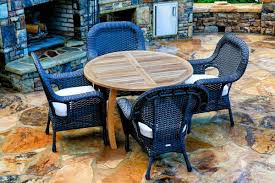 the lexington 5 piece dining set with jakarta teak dining table