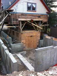 lift house remove first floor pour new foundation structures