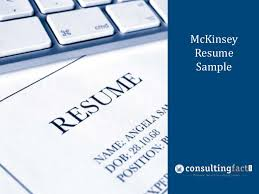 Business Consultant Sample Resume by Mckinseyresumesample 131023213423 Phpapp01 Thumbnail 4 Jpg Cb U003d1382564163