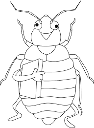 garden animals colouring pages simple ladybug coloring sheets