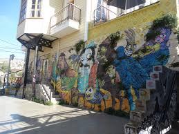 graffiti in valparaiso obere station der drahtseilbahn
