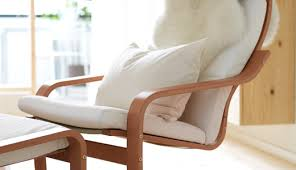 Poang Rocking Chair For Nursery Ikea Poang Chair Recovered Decorating Inspiration Pinterest