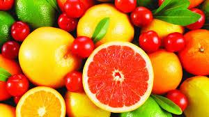 list fruits wallpaper
