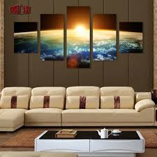 Home Decor Canvas Art Aliexpress Com Buy 5 Piece Canvas Art Wall Art Prints Painting