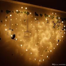 valentines day lights 2m 1 5m shape led string lights curtain wedding hotel