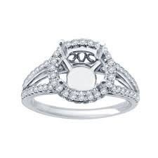 engagement ring setting diamond halo split shank engagement ring setting engagement