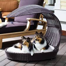 Covered Dog Bed Merry Products Striped Pet Teepee Hayneedle
