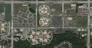 Baseball Map Blue Valley Recreation Recreation Complex Facilities