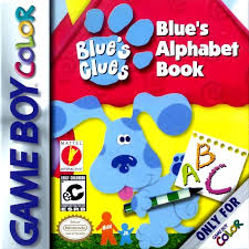 blue u0027s clues alphabet book game boy color
