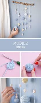 mobile kinderzimmer baby knitting patterns häkelanleitung für das kinderzimmer mobile