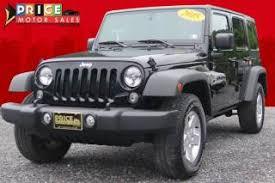 jeep wrangler 2015 price 2015 jeep wrangler unlimited sport cassville pa altoona state
